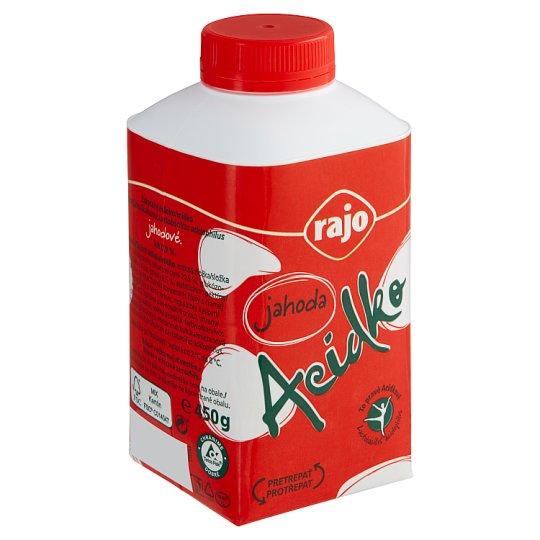 Rajo Acidko Sour Milk Strawberry 450 g