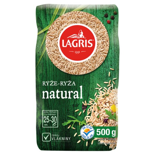 Lagris Long Grain Natural Rice 500 g