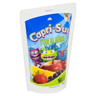 Capri-Sun Fun Alarm ovocný nápoj 200 ml