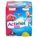 Danone Actimel Kids Yoghurt Milk with Vitamins B6 and D - Raspberry-Cranberry 4 x 100 g