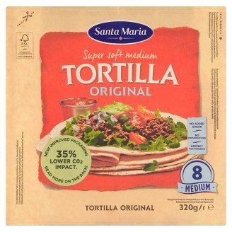 Santa Maria Tex Mex Original soft mexické pšeničné tortily 320 g