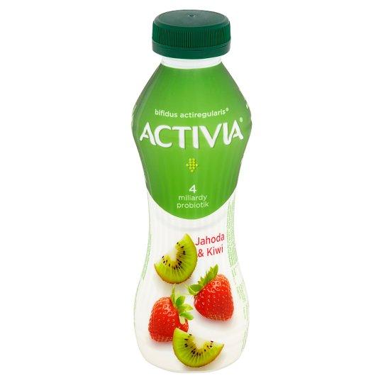 Danone Activia Strawberry - Kiwi Yoghurt Drink 310 g