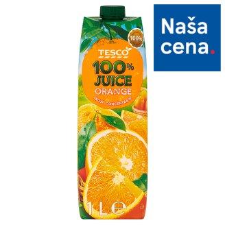 Tesco 100% Pomarančová šťava z koncentrátu 1 l