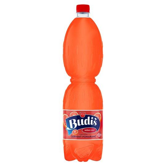 Budiš S príchuťou červený pomaranč 1,5 l