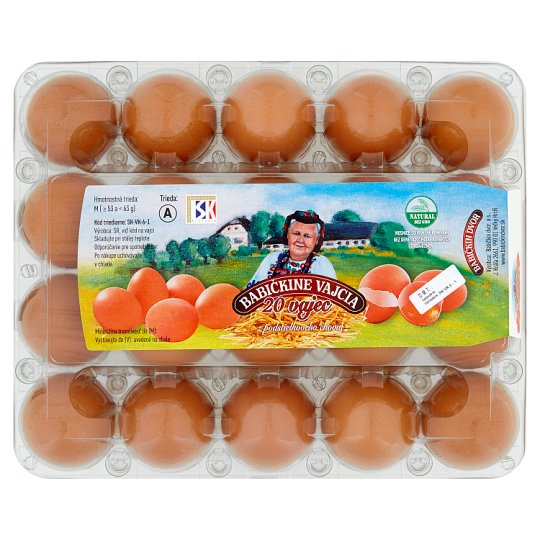 Grandmother's Eggs M 20 pcs