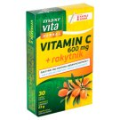 MaxiVita Herbal Vitamin C 600 mg + Buckthorn 30 Capsules 23 g