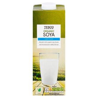 Tesco Organic Bio Soy Beverage Sweetened with Apple Juice 1 L
