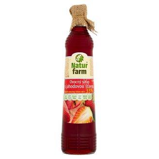 Natur Farm Ovocný sirup s jahodovou príchuťou 0,7 l