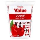 Tesco Value Sour Cherry Yogurt 330 g