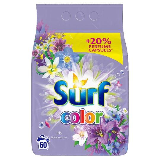 Surf Iris & Spring Rose prášok na pranie 60 praní 3,9 kg