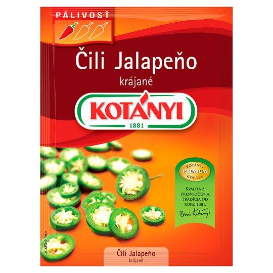 Kotányi Čili Jalapeňo krájané 8 g