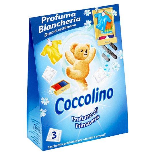 Coccolino Vôňa jari vonné vrecúška do šatníka 3 ks