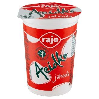 Rajo Acidko Zakysané mlieko jahoda 250 g