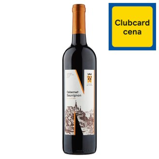 Víno Nitra Selection Cabernet Sauvignon slovenské akostné víno červené suché 0,75 l