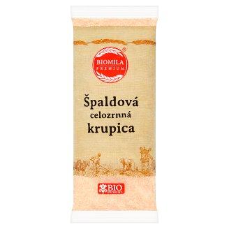 Biomila Premium Špaldová celozrnná krupica 500 g
