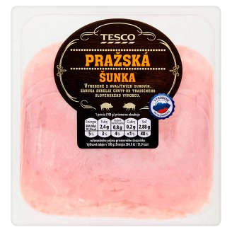 Tesco Prague Ham Sliced 100 g