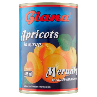 Giana Apricots in Sweet Syrup 410 g