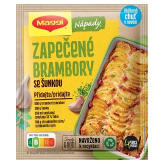 MAGGI Nápady Baked Potatoes with Ham 46 g