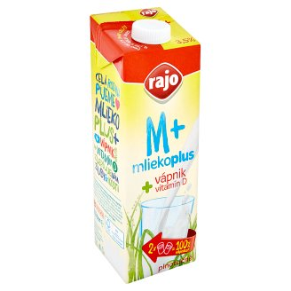 Rajo Durable Whole Milk with Calcium 1 L