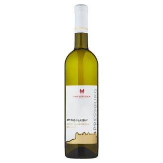 Villa Vino Rača Pressburg Rizling Vlašský akostné odrodové víno biele suché 0,75 l