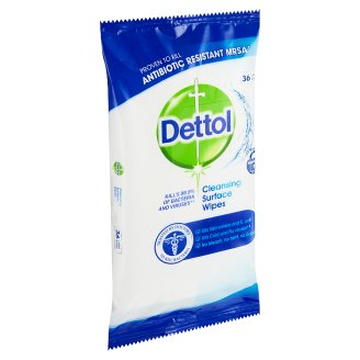 Dettol Antibacterial Wipes on Surfaces 36 pcs