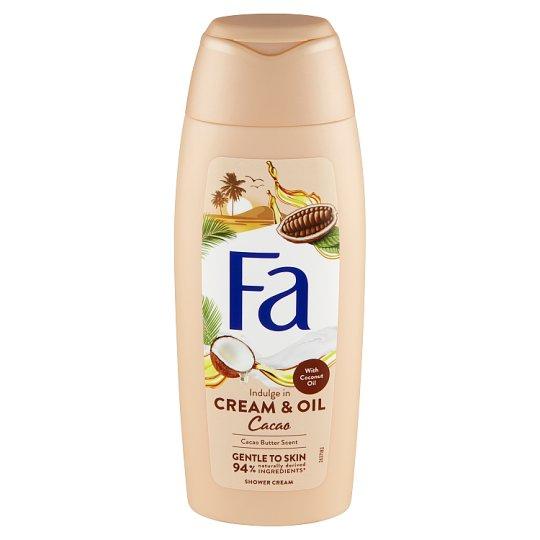 Fa sprchovací krém Cream & Oil Cacao 250 ml