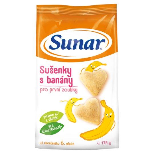 Sunárek Cookies with Bananas 175 g