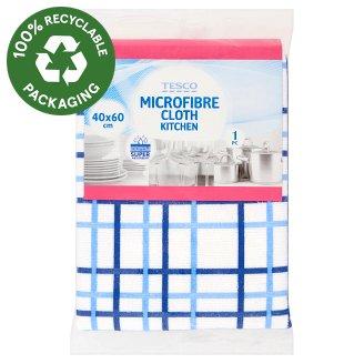 Tesco Microfibre Cloth Kitchen 40 cm x 60 cm 1 pc