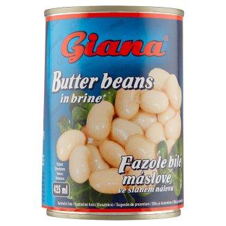 Giana Biela maslová fazuľa v slanom náleve 400 g