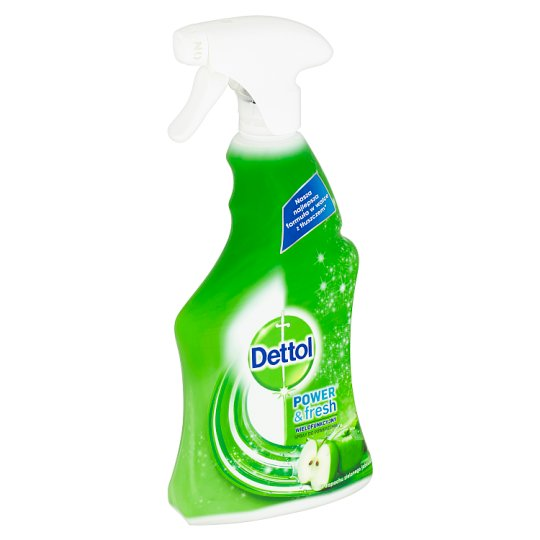 Dettol Power & Fresh Antibacterial Multi-Purpose Spray Green Apple 500 ml