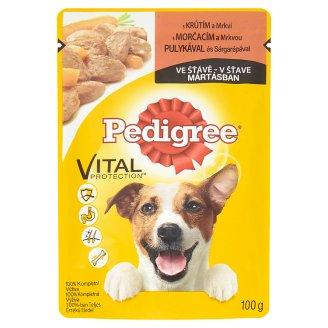 Pedigree Vital Protection 100% kompletná výživa s morčacím a mrkvou v šťave 100 g