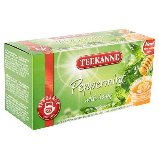 TEEKANNE Peppermint with Honey Herbal Tea, 20 Bags, 30 g