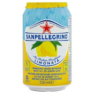 Sanpellegrino Limonata Lemon Carbonated Soft Drink 0.33 L