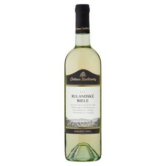 Château Topoľčianky Rulandské biele slovenské akostné víno D.S.C. polosuché biele 0,75 l