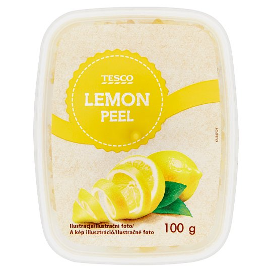 Tesco Lemon Peel 100 g