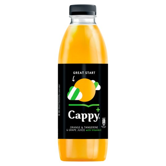 Cappy+ Orange & Tangerine & Grape Juice 800 ml