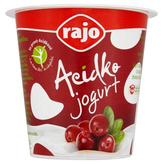 Rajo Acidko Jogurt brusnica 135 g