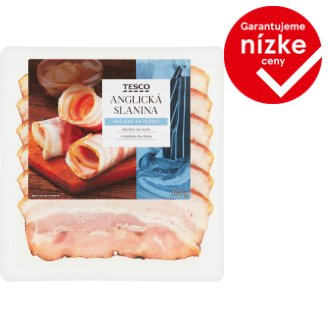 Tesco Smoked English Bacon 100 g