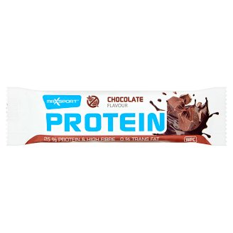 MaxSport Protein Bar in Dark Cocoa Chocolate Coating with Chocolate Flavour 60 g