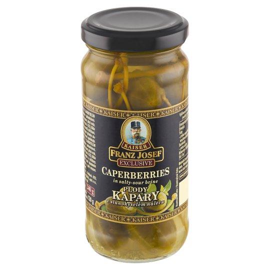 Kaiser Franz Josef Exclusive Caperberries in Salty-Sour Brine 240 g
