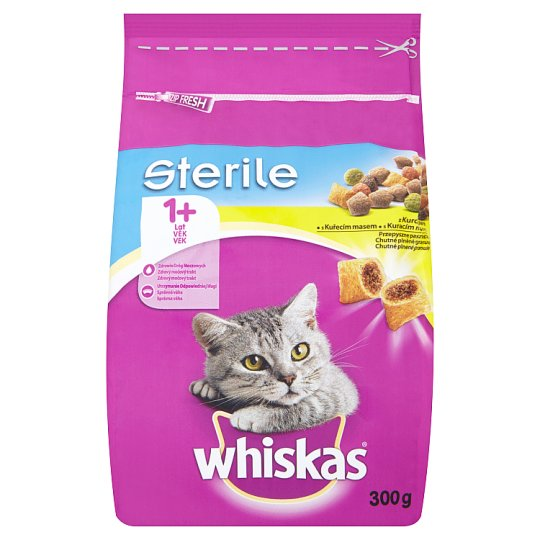 Whiskas Sterile With Chicken Meat 300 g
