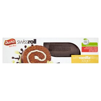 Doma Swiss Roll with Vanilla Filling 300 g