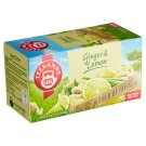 TEEKANNE Ginger & Lemon, World of Fruits, 20 Tea Bags, 35 g