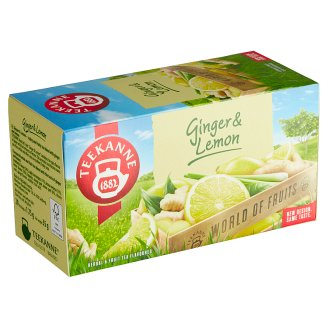 TEEKANNE Ginger & Lemon, World of Fruits, 20 vrecúšok, 35 g
