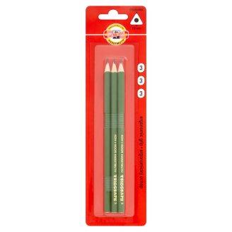 KOH-I-NOOR Triangular Graphite Pencil Hardness 3 3 pcs