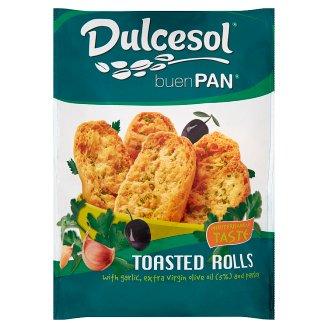 Dulcesol Buen Pan Pečené žemličky s extra panenským olivovým olejom, cesnakom a petržlenom 160 g