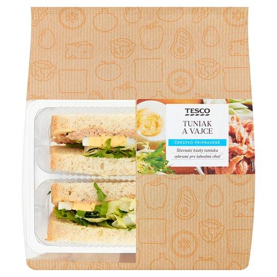 Tesco Toast Bread Tuna and Egg 158 g