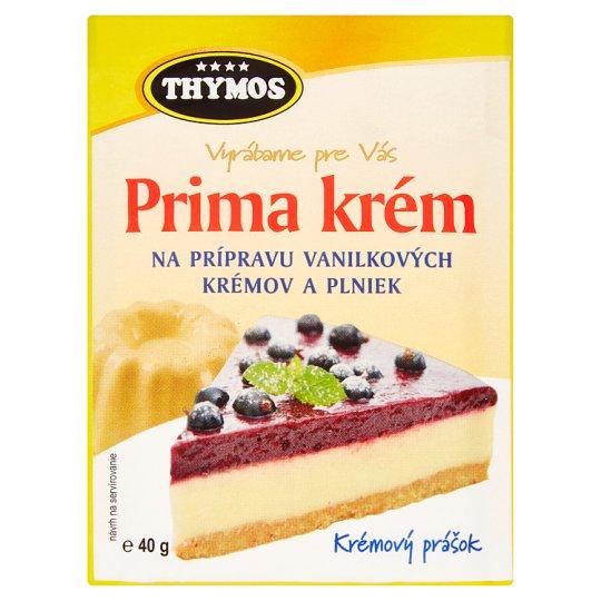 Thymos Prima Cream to Prepare Vanilla Cream and Fillings 40 g