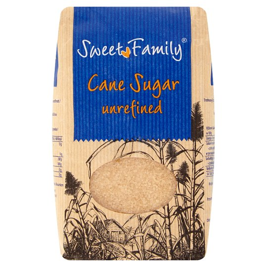 Sweet Family Cane Sugar Unrefined 1 kg