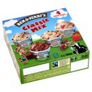 Ben & Jerry's Classic Mix Ice Cream 4 x 100 ml
